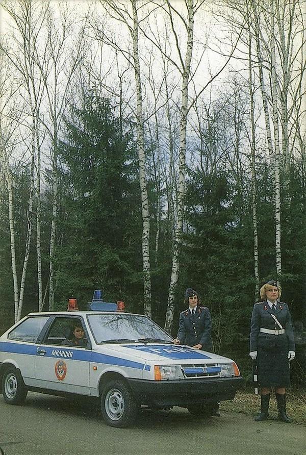 Вот такими были гаишники в СССР