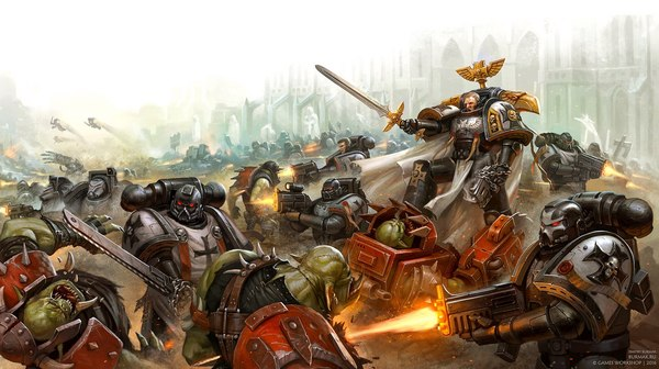 Crusaders of Dorn by Dmitry Burmak