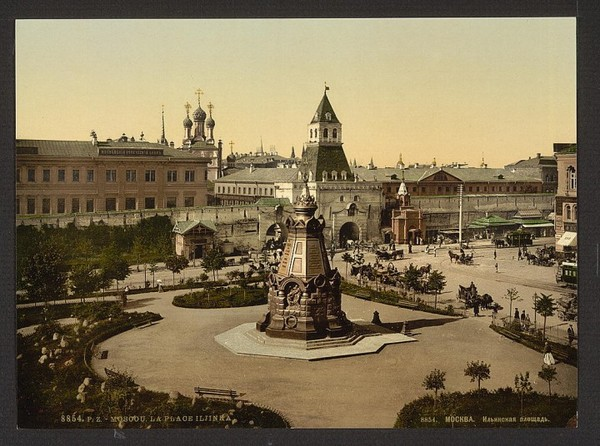 Старые фото Москвы в цвете Фотография, Москва, Старое фото, Колоризация, Длиннопост