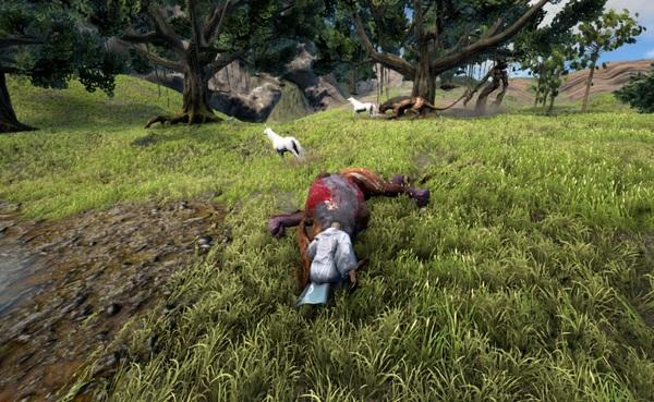 Подробности дикого мира Dark and Light Steam, Dragons, MMORPG, RPG, Sandbox, Dark and Light, игры, песочнца