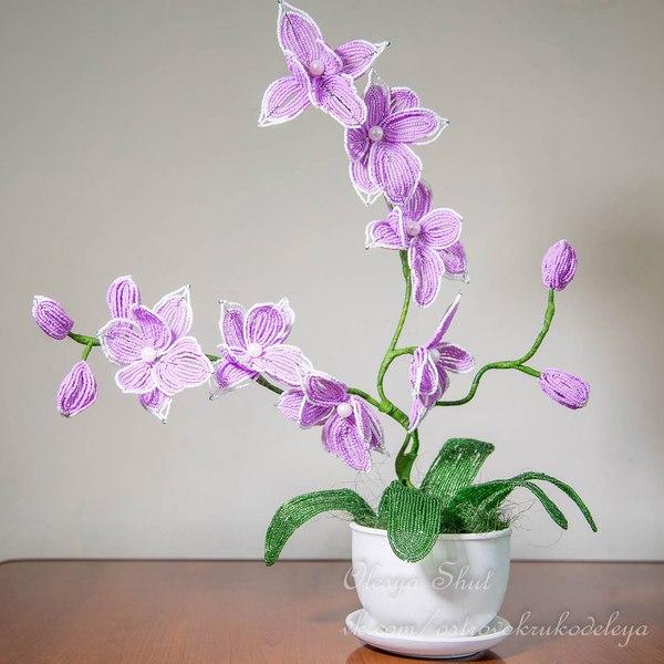 Орхидея из бисера!