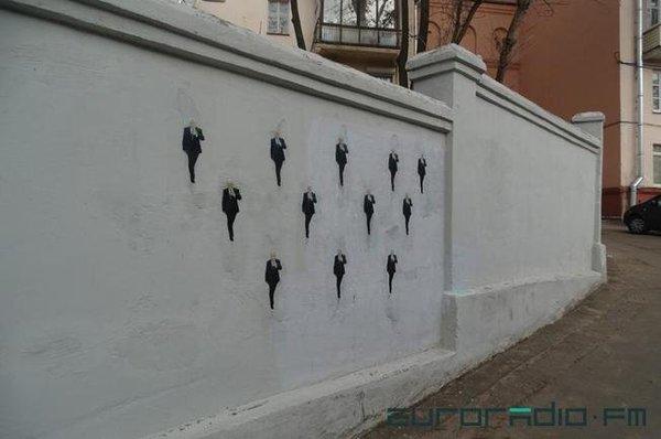 Если бы они так оперативно работали на вызовах... Политика, Граффити, Стрит-Арт, Беларусь, Минск, Жэс