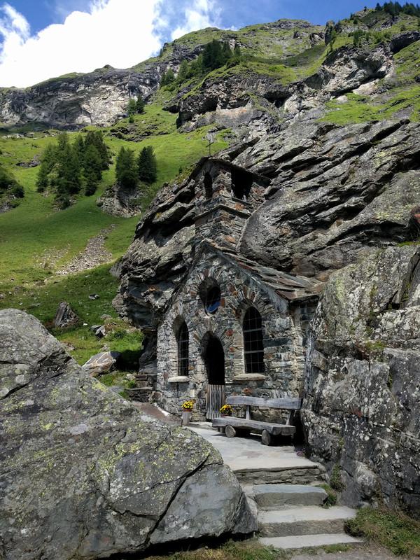 Древняя часовня Рождества Богородицы в Австрии Автрия, Церковь, Часовня, Горы