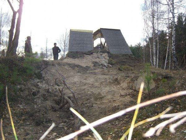 Как мы сноупарк строили. строительная история, сноупарк, зима, сноуборд, длиннопост