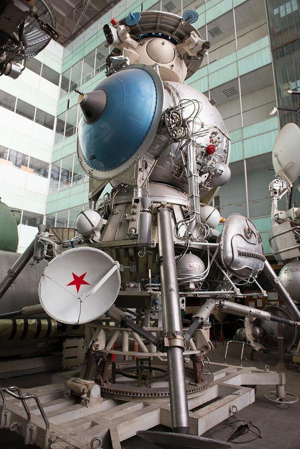 Пятиметровый советский Лунный Корабль Луна, Лунный Корабль, космос