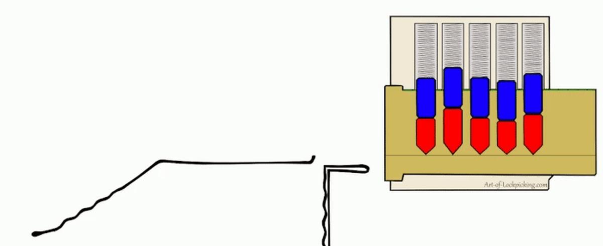 Принцип работы замка гиф