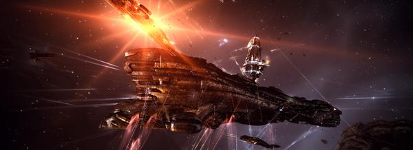 EVE Online - Титан Спектрального флота Eve online, Компьютерные игры, Космос, Mmorpg, Длиннопост, Видео