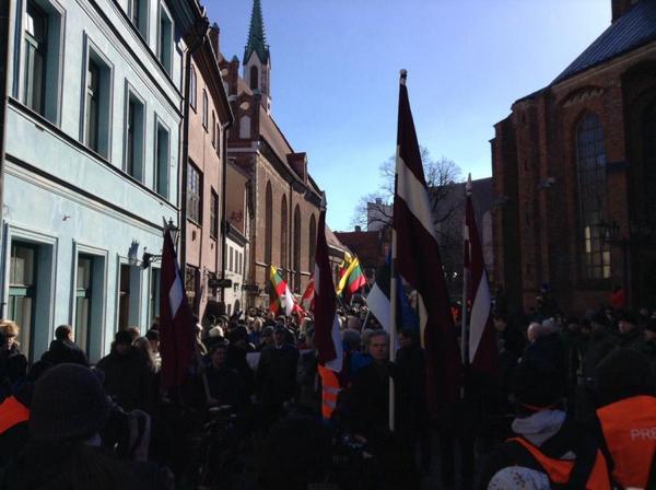 День памяти легионеров СС Латвия, прибалтика, Рига, фашизм, история, длиннопост