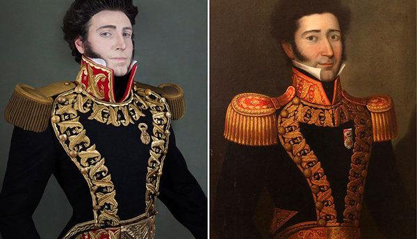 Перуанец воссоздал портреты своих предков-аристократов Интересное, Путешествие во времени, Длиннопост