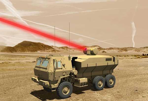 В США испытали чрезвычайно мощный боевой лазер наука, Оружие, лазер