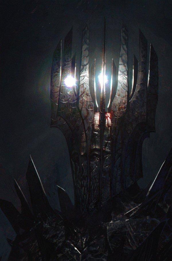 Мелькор - олицетворение Тьмы в мире Толкина.