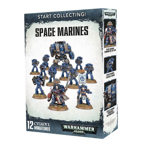 Первые шаги в хобби WH Miniatures, Adeptus astartes, Склеил, Моделизм, Warhammer 40k, Длиннопост