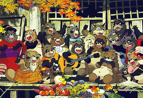 Некоторые японские черти и места их обитания - ч. 3 ёкай, тануки, кицунэ, оборотни, бакэнэко, кот, фольклор, япония, длиннопост
