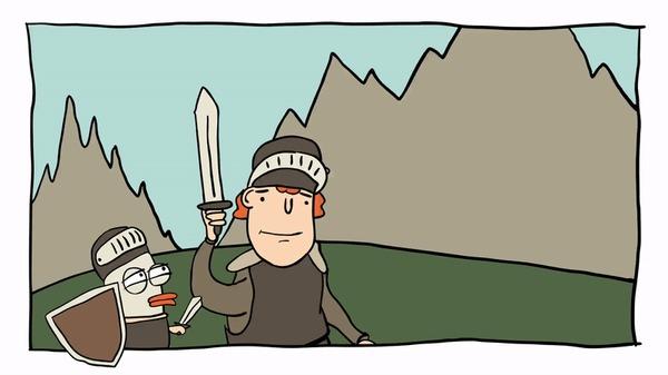 Утиная благотворительность №74: Анимированная версия Гифка, Утиная благотворительность, Комиксы, Юмор