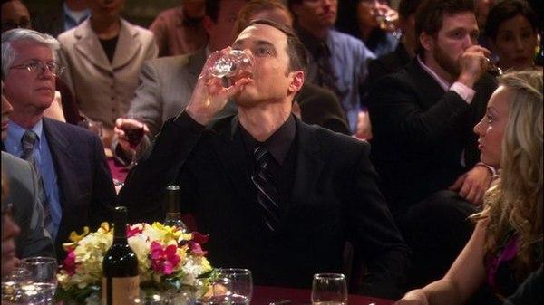 Алкоголь? С каждым случалось... алкоголь, раскадровка, Теория большого взрыва, длиннопост