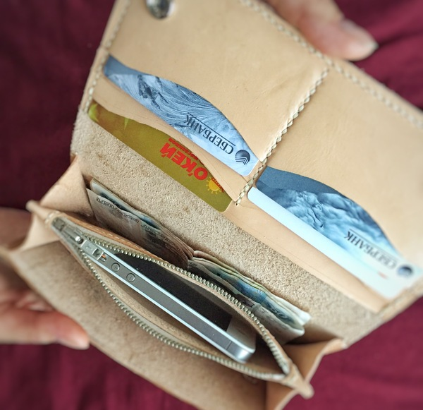 """Доброго всем времени суток! Предлагаю вашему вниманию кошелёк под кодовым названием """"Любимой Маме"""" кошелек, изделия из кожи, любимой маме, подарок, подарок девушке, длиннопост"""