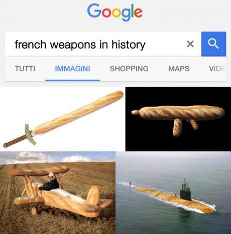 Французское оружие всех времен.