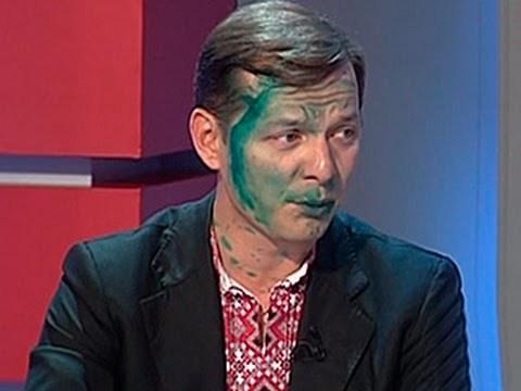 Облили или накрасили? Украина, Россия, политика, фотография, зеленка, длиннопост