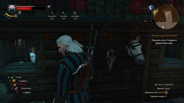 """""""Не, ну а что?"""" The Witcher 3:Wild Hunt, Ведьмак 3, Скриншот, Юмор, Баг, Плотва, Игры"""