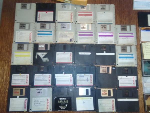 Старое, но до сих пор рабочее! Дискета, Виниловые пластинки, Бобины, Старое, Рабочее, Длиннопост