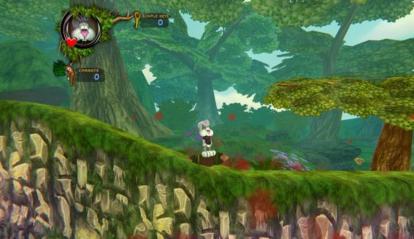 Игра The ForestTale или bloody rabbit :D TheForestale, Doom, 2dgame, Кровь, Игры, Кролик, Длиннопост
