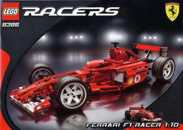 Lego Technic 8674 Lego, Ferrari