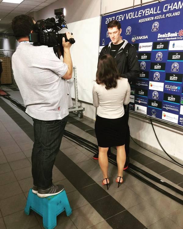 И снова интервью не мое, интервью, Дмитрий Мусэрский, волейбол, высокий