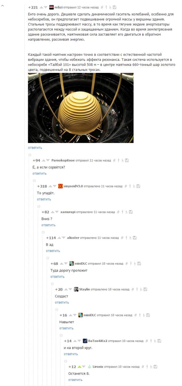 Обсуждение системы стабилизации Taipei 101 Скриншот, Данте Алигьери, Божественная комедия, Падение