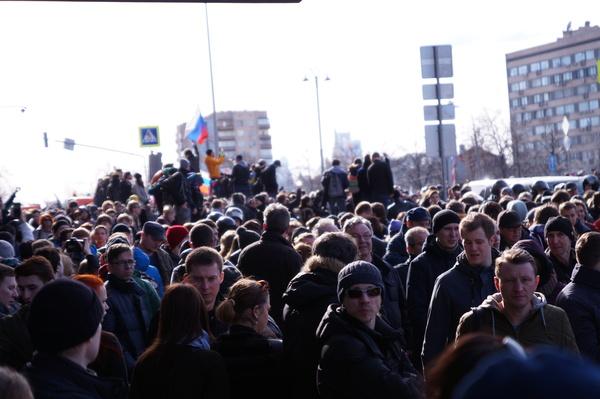 26 марта Митинг, Алексей Навальный, Коррупция, Дмитрий Медведев, Политика, Дача, Расследование, Фотография