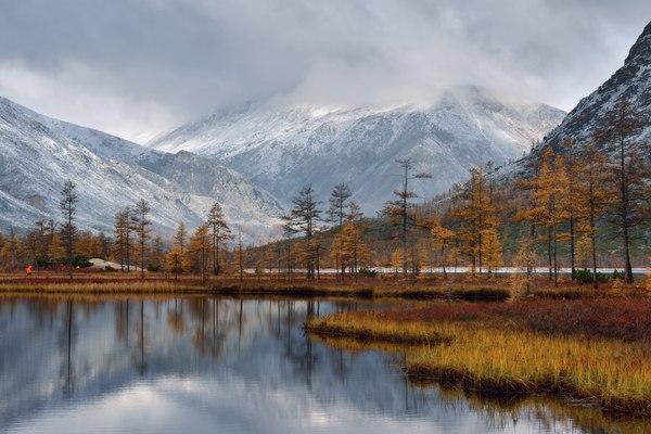 Озеро Джека Лондона и окрестности Магаданская область, Озеро, осень, Россия, фотография, Природа, надо съездить, пейзаж, длиннопост