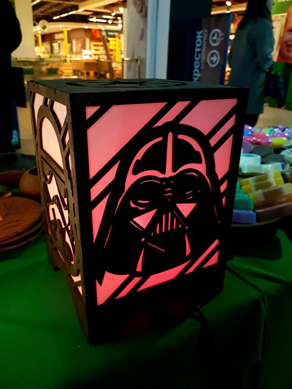 Наши светильники Star Wars Работа с деревом, Star wars, Светильник, ТМ Ананас, Длиннопост