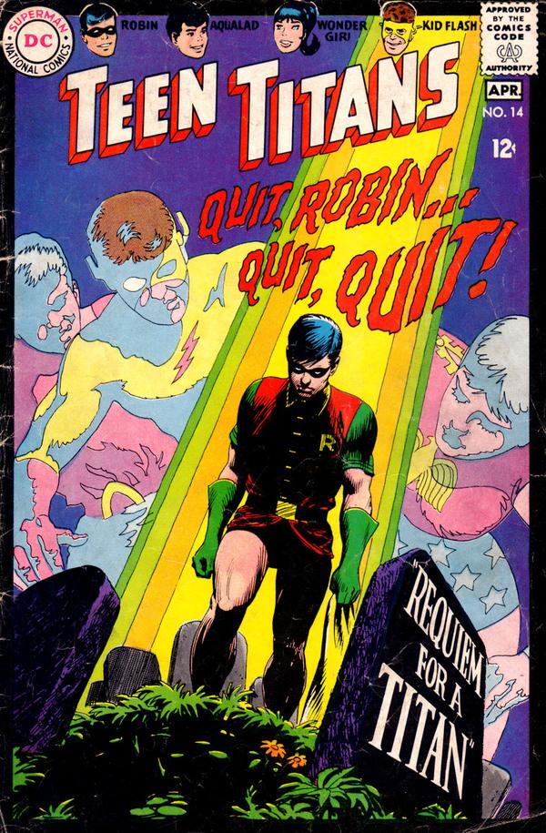 Знакомство с комиксами: Teen Titans #14 Супергерои, Dc comics, Юные Титаны, Робин, Горгулья, Комиксы-Канон, Длиннопост