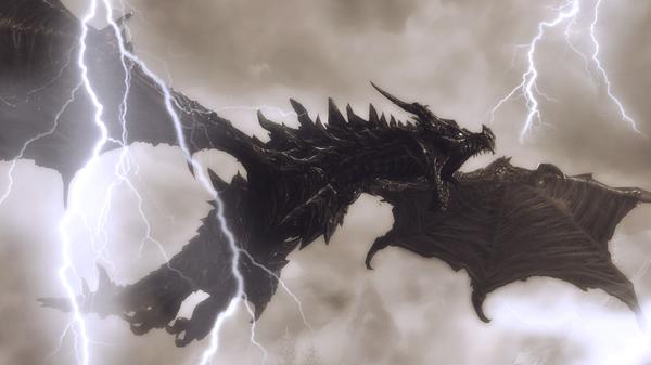 Самые сильные Драконы изо всех игровых вселенных Дракон, Игры, Фильмы, Длиннопост