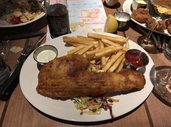 Рыбка с картохой