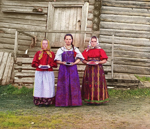 Первые цветные фотографии Российской империи. Фотография, Ретро, Дореволюционная Россия, Прокудин-Горский, Длиннопост