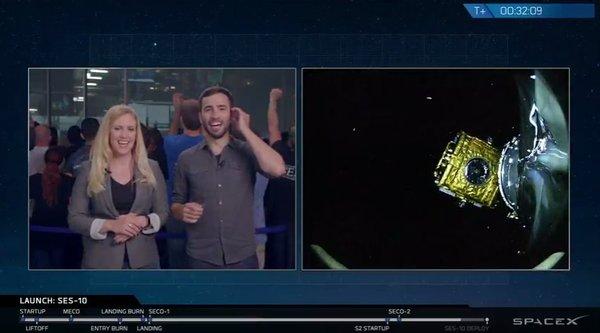 SpaceX сумел дважды запустить и вернуть первую ступень ракеты-носителя Falcon 9R Космос, Ракета, Falcon 9, Spacex, Илон Маск, Видео, Длиннопост