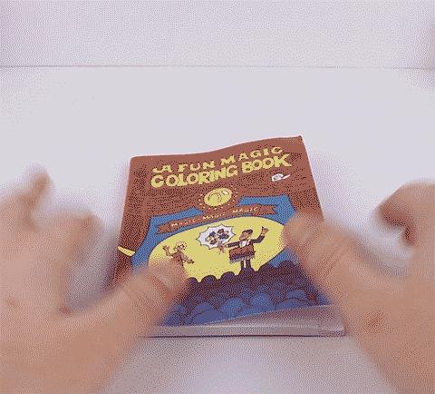 Магия вне Хогвартса! Книжка-раскраска с секретом. Раскраска, Фокус, Иллюзия, Трюк, Гифка, Видео