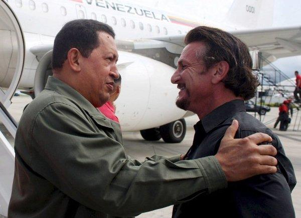 Известные левые и коммунисты запада: Шон Пенн [2] Известные левые, Шон Пенн, Уго Чавес, Венесуэла, Коммунизм, Длиннопост