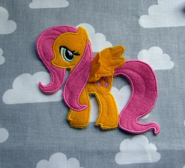 Литтл пони - мои вышитые аппликации My little pony, Аппликация, Машинная вышивка, Fluttershy, Twilight Sparkle, Applejack, Pinkie Pie, Rarity, Длиннопост