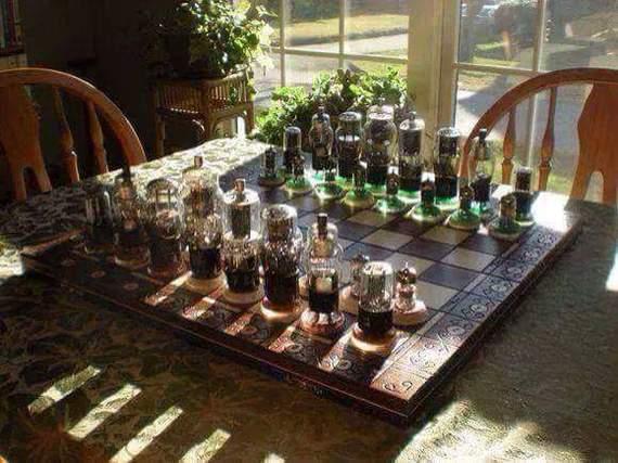 Радиолюбительские шахматы
