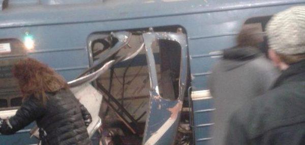 В Санкт-Петербурге взрыв в метро Санкт-Петербург, Взрыв, Метро, Новости