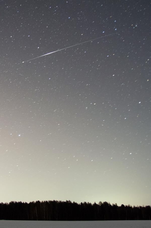 Еще вспышки Иридиума и одна идея для любителей астрономии космос, Вспышка иридиума, астрофото, астрономия, длиннопост
