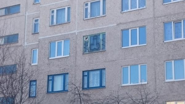 Украшение на окне. Окно, Зачем, Чебоксары