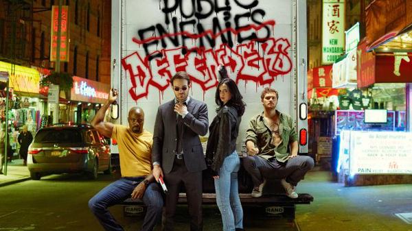 Пасхалки от Netflix netflix, The Defenders, защитник, Marvel, сорвиголова, Люк Кейдж, железный кулак, Джессика Джонс, видео