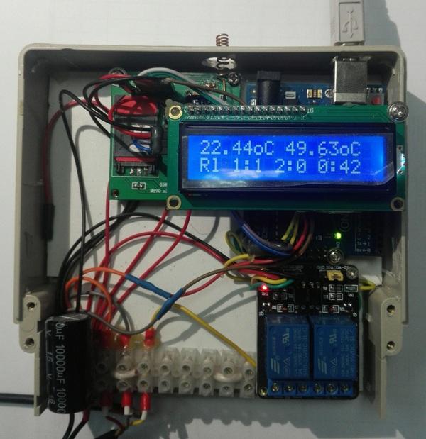 Управление обогревом на даче через GSM Adruino, Neoway m590e, Gsm, Длиннопост