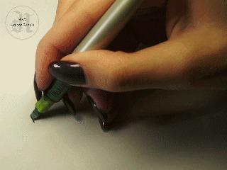 Весенняя душа Artforrebels, Каллиграфия, Parallel Pen, Весна, Моё, Леттеринг, Гифка