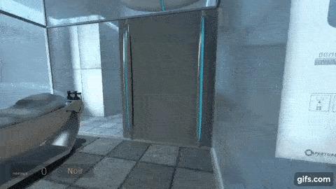Portal, уровень игры - Азиат