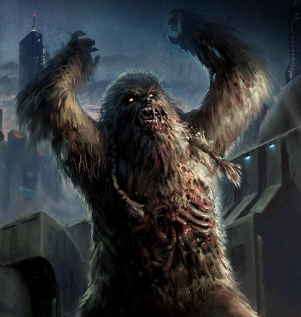 Ходячие мертвецы в Звездных Войнах Зомби, ходячие мертвецы, star wars, валайбалалай, арт, крипота, видео, длиннопост