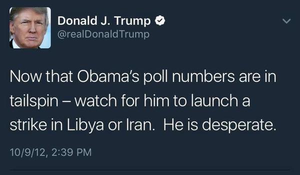 Прекрасное объяснение случившемуся Трамп, Обама, политика, twitter
