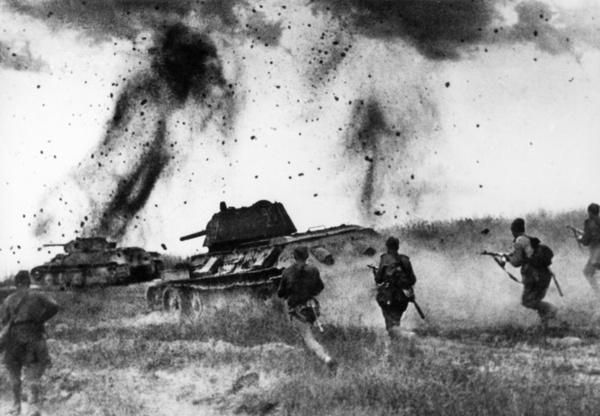 Безумный танковый бой в истории Второй мировой войне история, вторая мировая война, прохоровка, танкист, Танковый бой, длиннопост